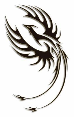 tatouage l 39 ange du phoenix. Black Bedroom Furniture Sets. Home Design Ideas