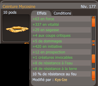 Mycosine, merci axel!
