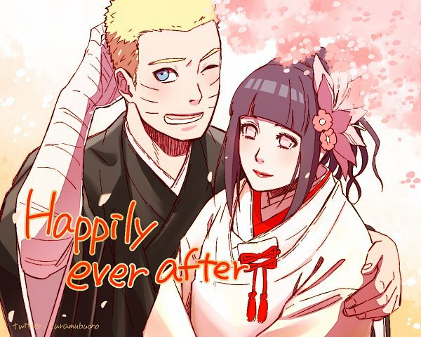 Naruto et Hinata série