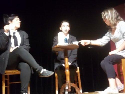 Les quelques extraits vidéos de Mégan à son spectacle théâtral comique du Mercredi 12 Juin..