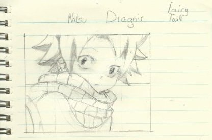 Un petit dessin de Natsu...