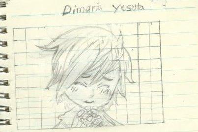 Un dessin de Dimaria Yesta, des douze Spriggans d'Arbaless