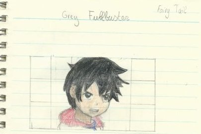 Un dessin de Grey Fullbuster