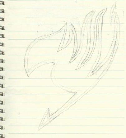 Dessin du logo de Fairy Tail