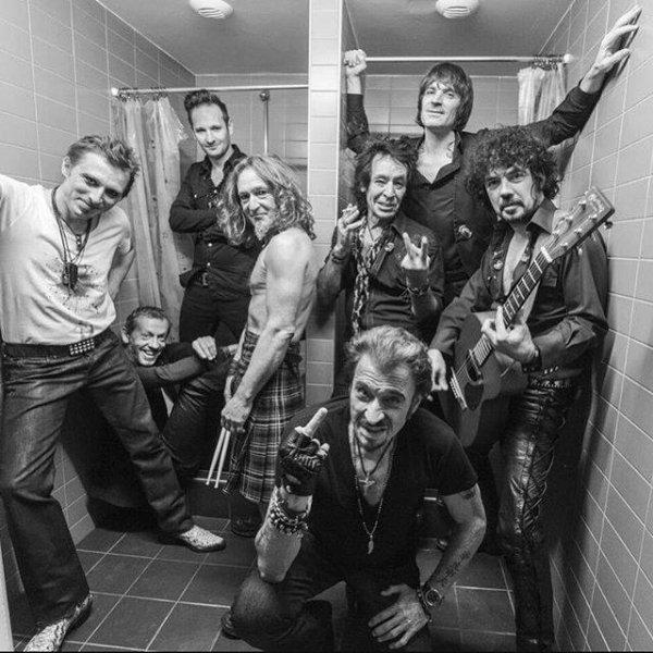 Johnny Hallyday et ses musiciens