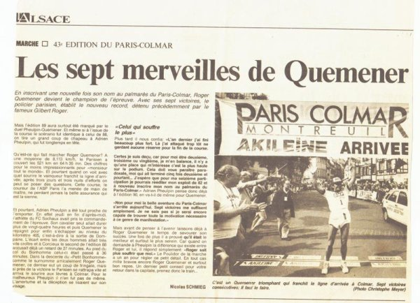 Archives  presse   Paris-Colmar