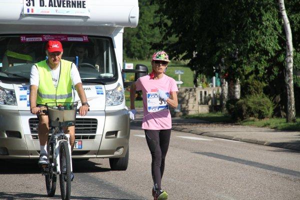 Dominique ALVERNHE   championne de France des 24 heures 2011 vainqueur de la François 1er