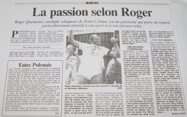 La passion selon Roger