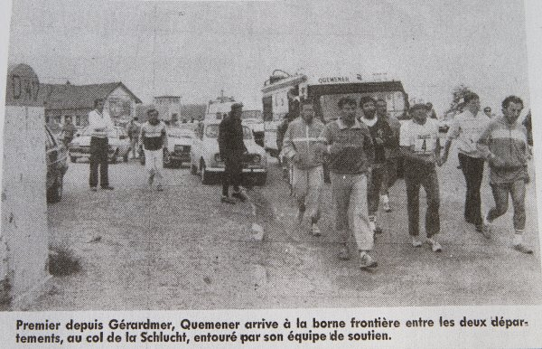 QUEMENER  à Gerardmer