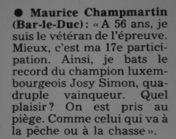 Maurice CHAMPMARTIN