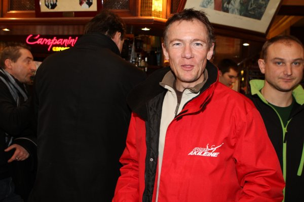 Jean-Marie ROUAULT  2ème de Paris-Colmar 2011 (à la fin du stage de grand fond à Paris)