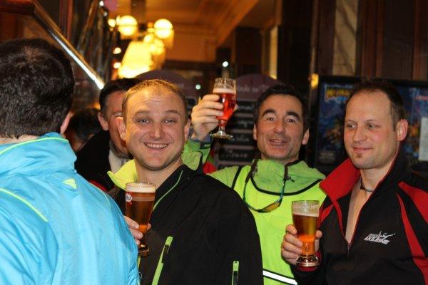 Le stage de grand fond a pris fin à Paris (Porte de Vincennes) dans une excellente ambiance..