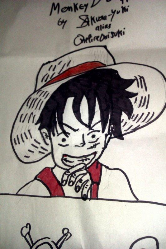 Luffy Dessin
