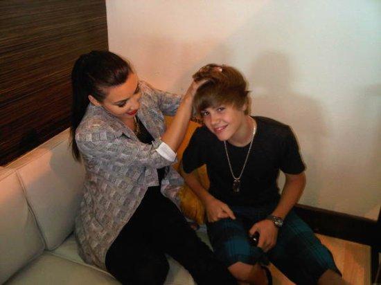 Justin Bieber en vacances avec Kim Kardashian, c'est chaud !