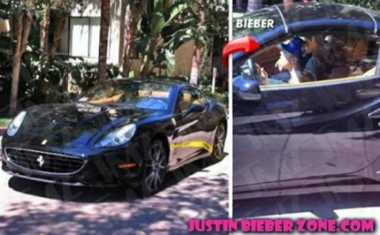 JUSTIN BIEBER : UN ACCIDENT DE VOITURE ?