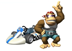 mario kart wii comment d bloquer funky kong blog de timat313. Black Bedroom Furniture Sets. Home Design Ideas