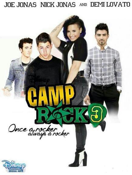 Joe Jonas et Demi Lovato publient un joli message à l'occasion de l'anniversaire de leur film Camp Rock :)