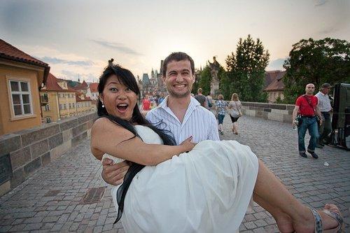 Couple eurasian