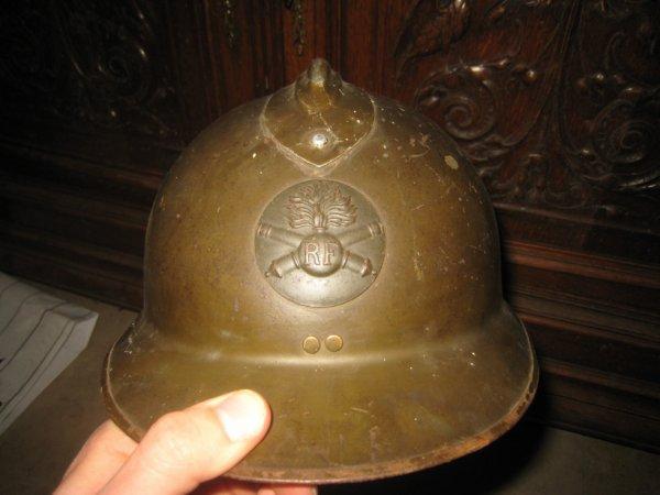 casque m26 français 1940 43eme R.A.D.
