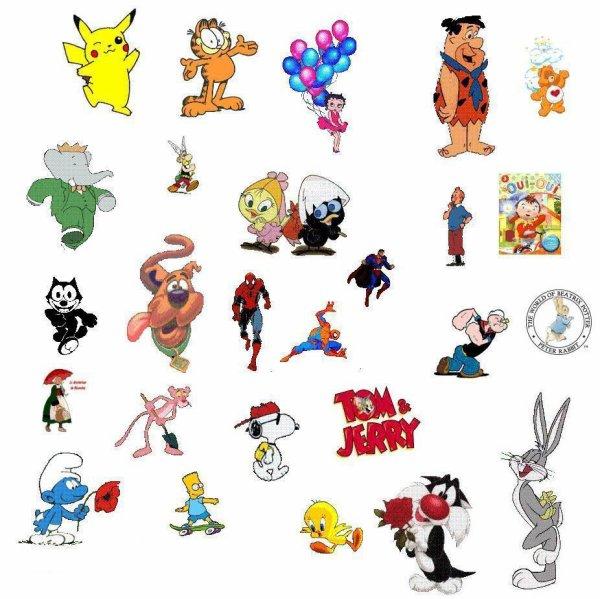 24 - loterie des dessins animés