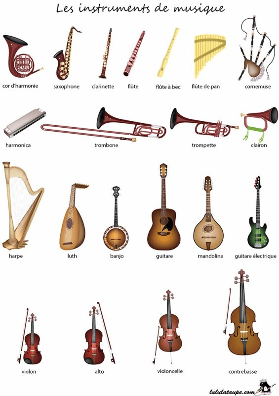 57 - loterie des instruments de musique