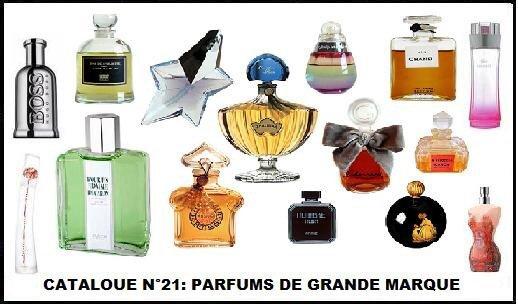 58 - loterie des marques de parfum