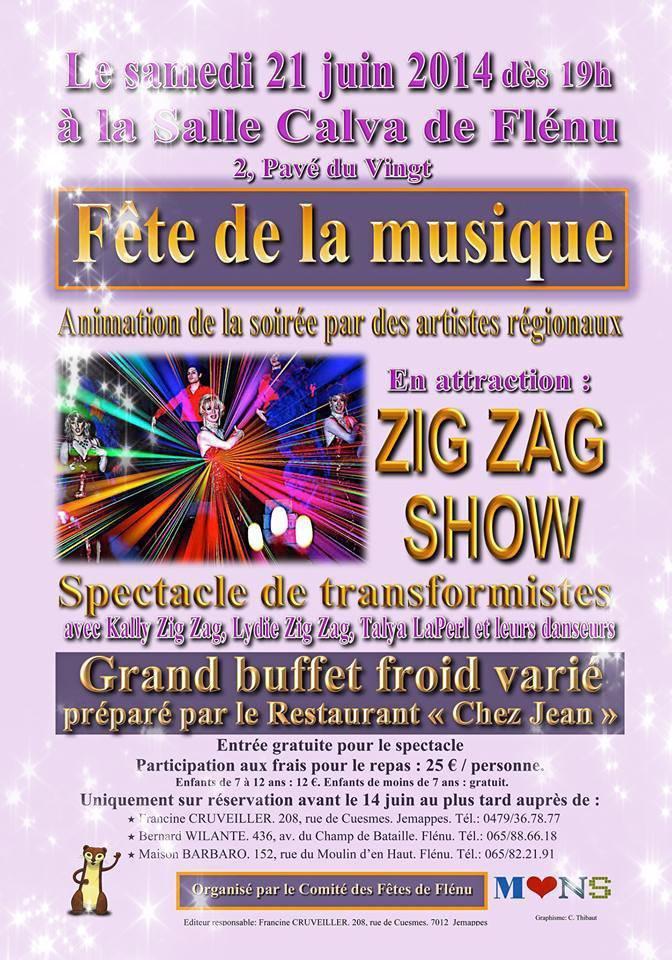 Zig Zag Show - La nouvelle revue (vidéo + nouvelles dates) MISE A JOUR