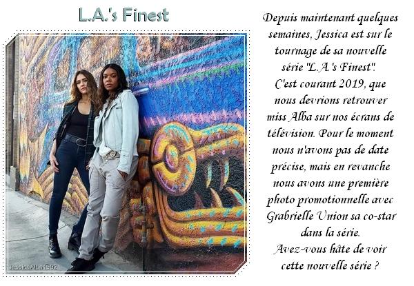 """Une première photo promotionnelle pour """"L.A.'s Finest"""""""