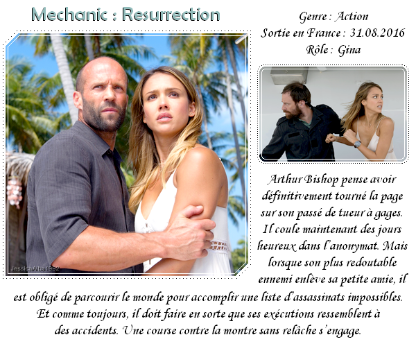 Film : Mechanic Resurrection