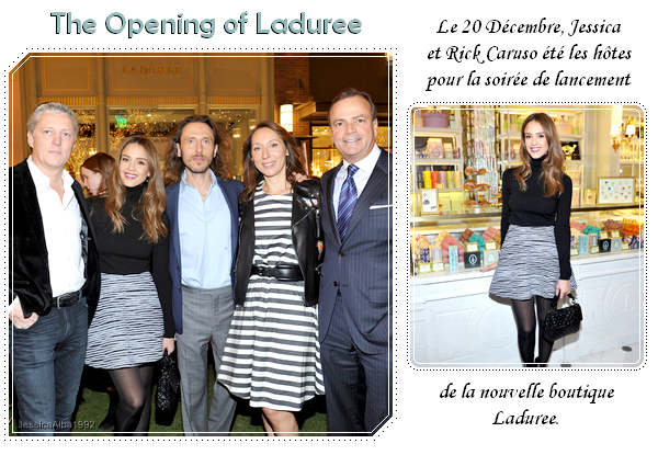 The Opening of Laduree
