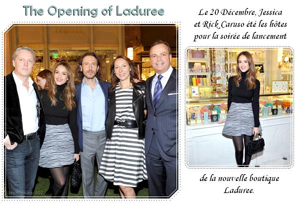 The Opening of Laduree