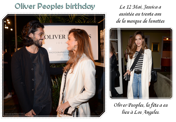 Oliver Peoples birthday