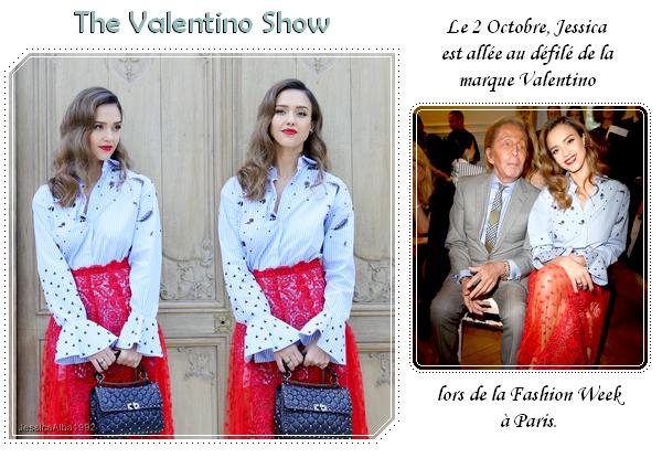 The Valentino show