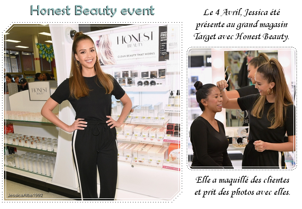 Honest Beauty makeovers at Target