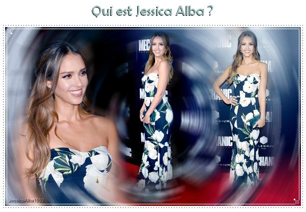 Biographie de Jessica Alba