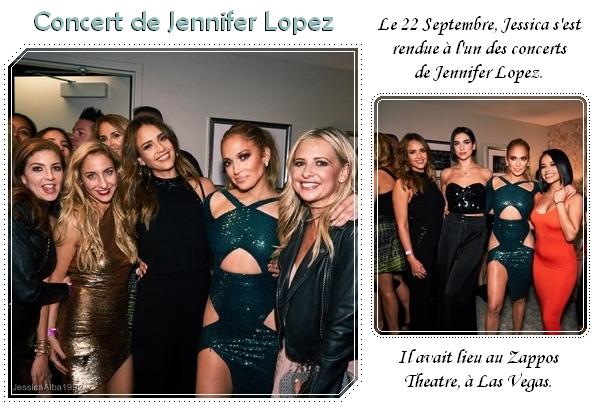 Concert de Jennifer Lopez