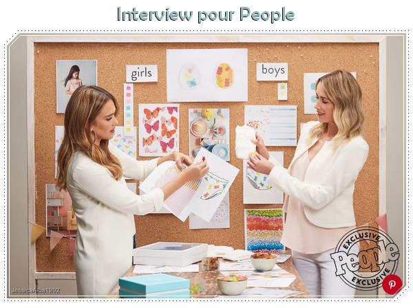 Interview pour People : Jessica Alba nous parle de ses nouvelles couches Honest