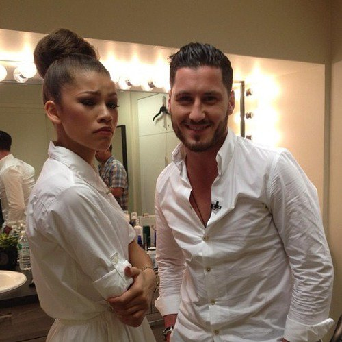 """Zendaya et Val sur """"Live With  Kelly And Michael"""""""