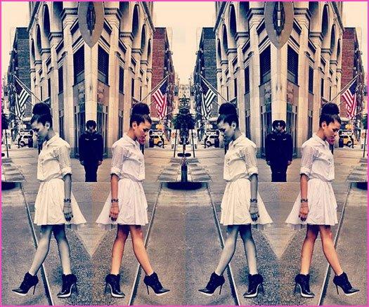 Zendaya montre son New York City Style le 23 Mai 2013