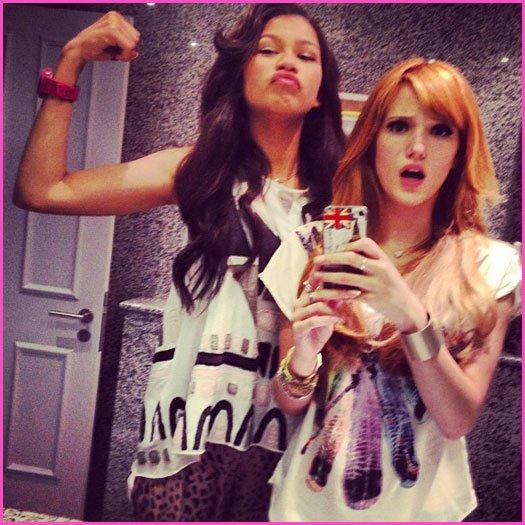 """Zendaya Coleman n'a aucun sentiment dur pour Bella Thorne après l'annulation de""""SIU'"""