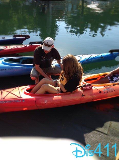 Zendaya fait du kayak le 3 Septembre 2013