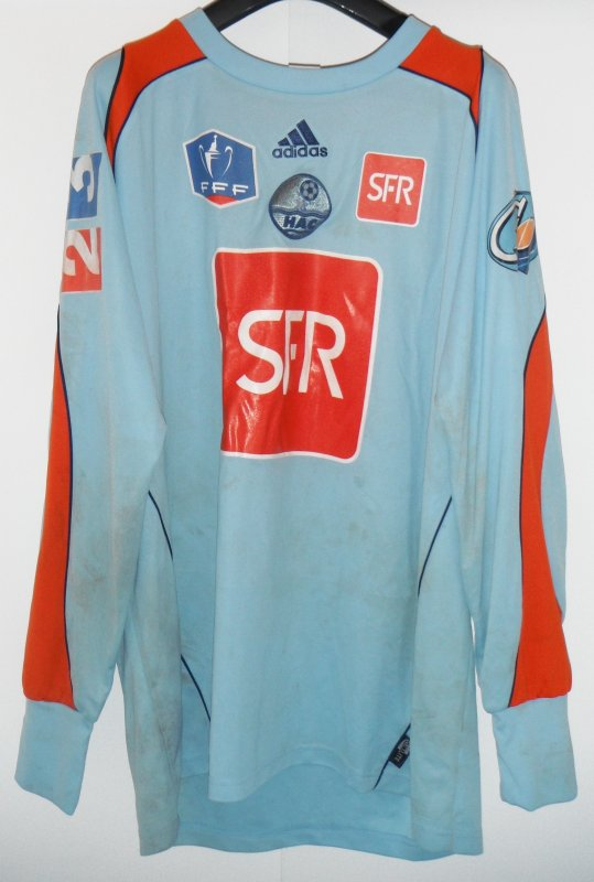 MAILLOT DE JOHNNY PLACIDE