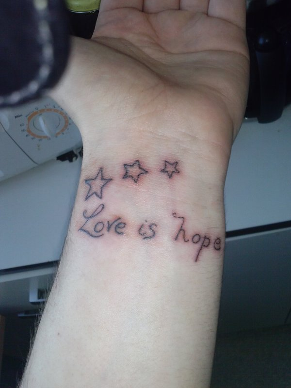 mon premier tatouage :D