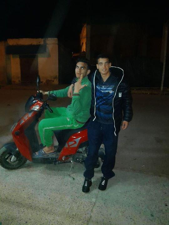mon ami anouar et moi