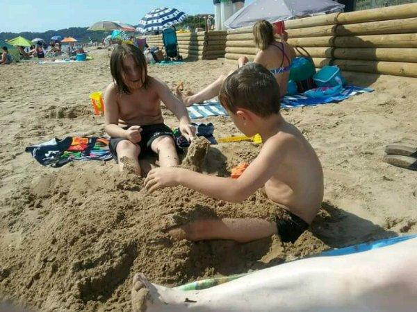 Toujours mes loulou a la plage de hyeres