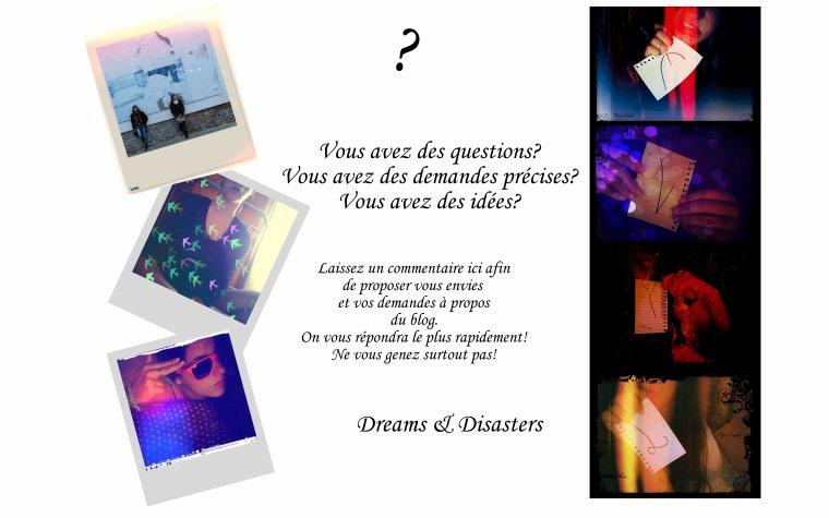 Questions ~ Pub ~ Demandes