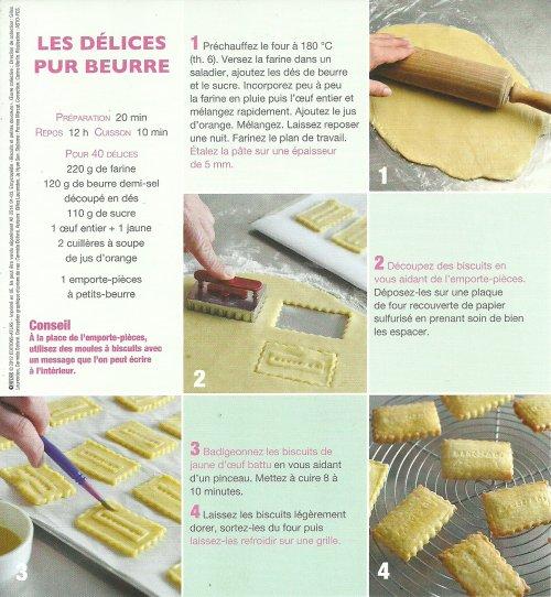 recette de biscuits au beurre
