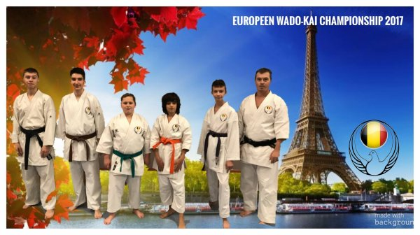 Coupe d'europe Wado Kai Karaté-Do 2017 FRANCE
