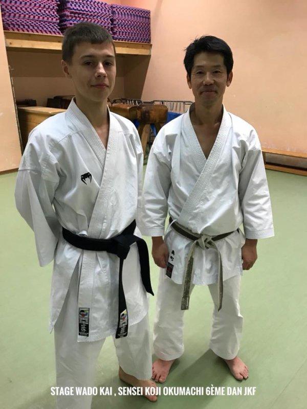 Open International de Liège et Stage Senseï Koji Okumachi 6ème Dan JKF