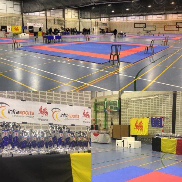Championnat Francophone de Karaté 2018